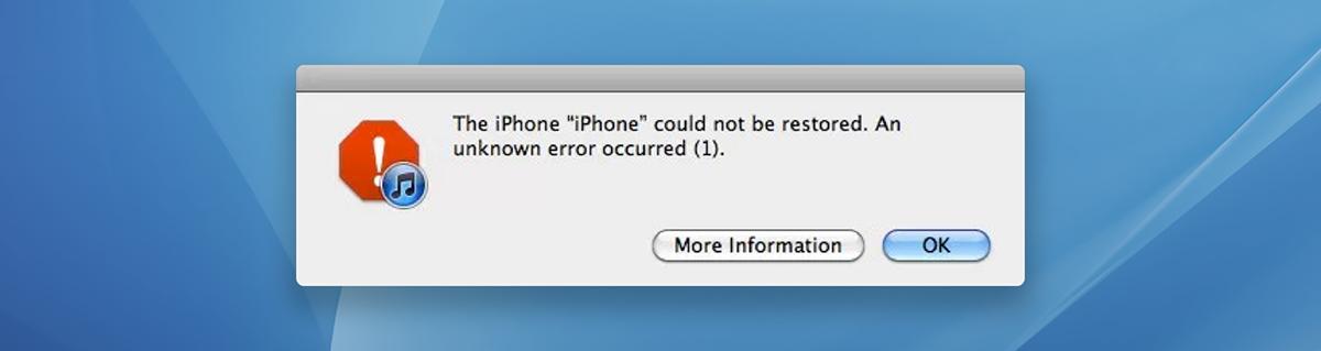 iTunes: An Error Occurred - Allen Pike