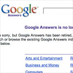 Google Answers has been retired.