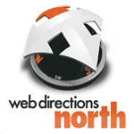 Web Directions North logo.