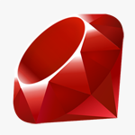 Ruby is the only programming language I know of that gets away with a literal logo.